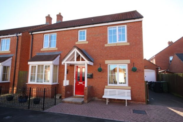 4 bed detached house for sale in Moravia Close, Bridgwater