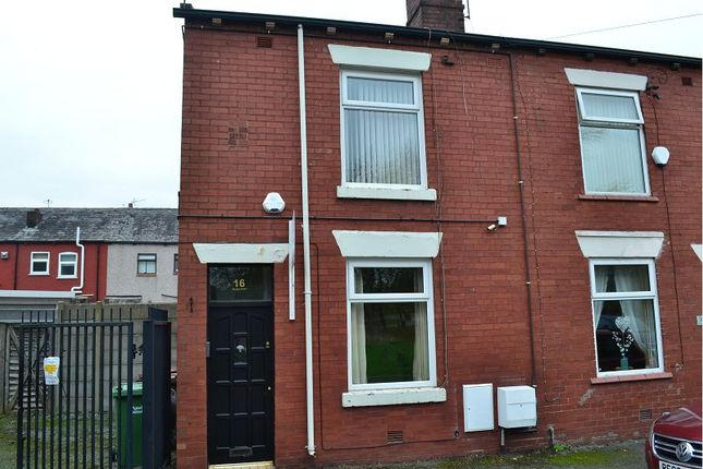 Thumbnail End terrace house to rent in Broomhey Terrace, Ince, Wigan