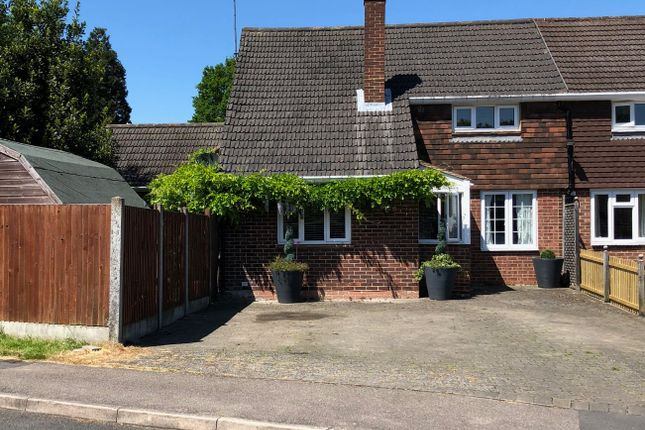 Thumbnail Semi-detached house for sale in Jubilee Avenue, Ascot, Berkshire