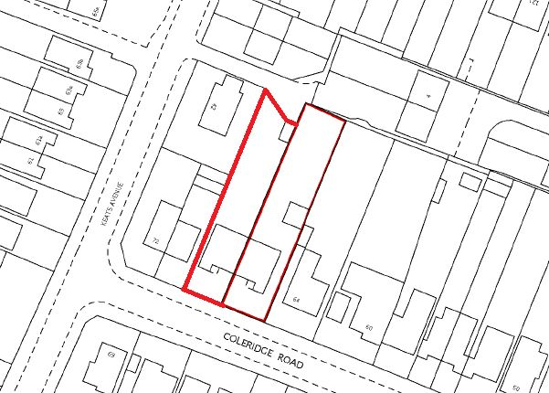 Thumbnail Land for sale in Coleridge Road, Romford
