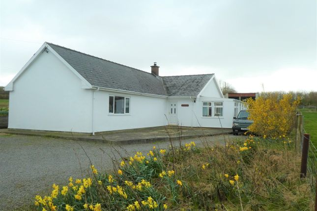 Thumbnail Detached bungalow for sale in Nebo, Llanon