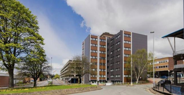 Studio for sale in Keele House, The Midway, Newcastle ST5