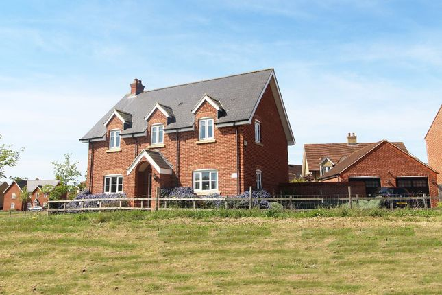 Thumbnail Detached house for sale in Greenkeepers Road, Great Denham, Bedford