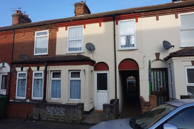Thumbnail Terraced house to rent in Upper Cliff Road, Gorleston, Great Yarmouth