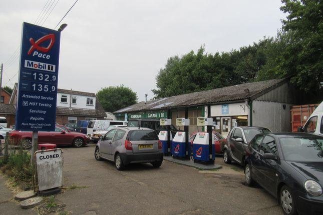 Thumbnail Light industrial for sale in Somersham Garage, Lower Road, Lower Somersham, Ipswich, Suffolk