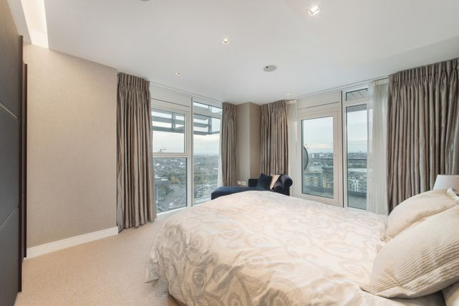 Thumbnail Flat for sale in Ascensis Tower, Juniper Drive, London
