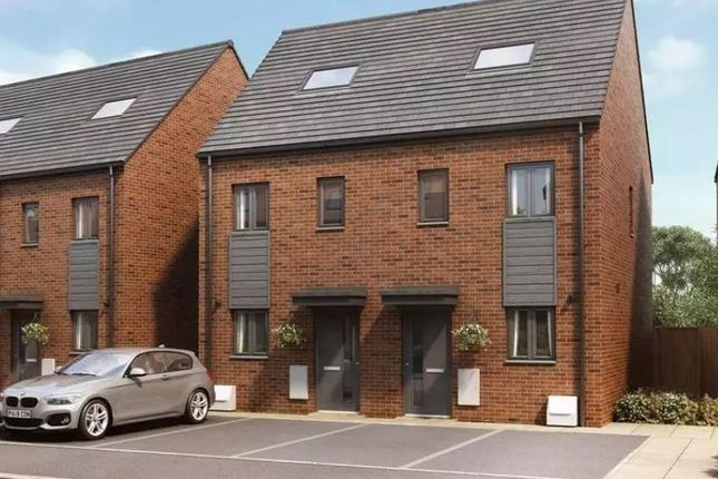 Thumbnail Terraced house for sale in Plot 207 The Green-35% Share, 47 Webster Avenue, Shirley