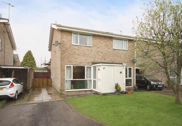 Thumbnail Semi-detached house for sale in Ennerdale Close, Dronfield Woodhouse, Dronfield, Derbyshire