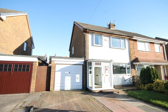 Thumbnail Semi-detached house to rent in Meadowcroft Road, Leyland