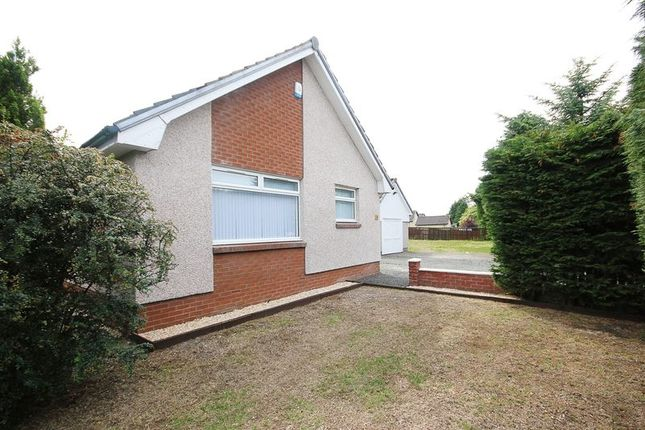 Thumbnail Detached bungalow for sale in East Main Street, Harthill, Shotts