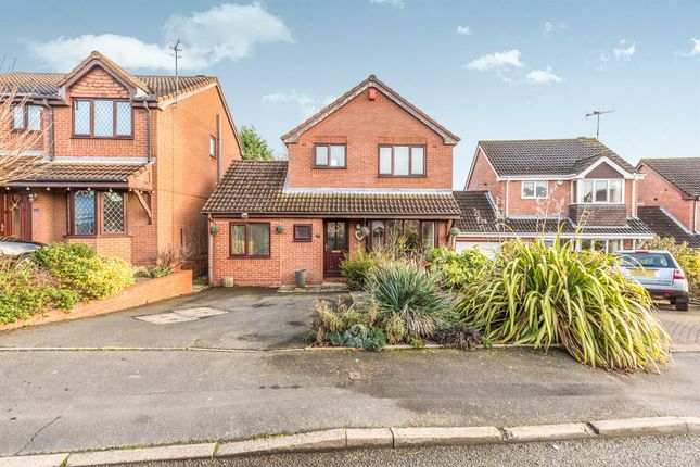 Thumbnail Detached house for sale in Owens Way, Cradley Heath