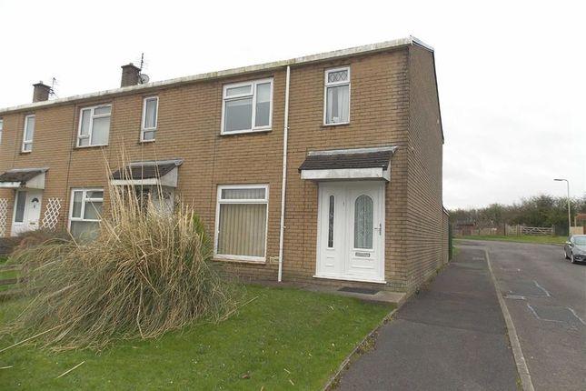 Thumbnail End terrace house for sale in Laurel Dene, Llanharry, Pontyclun