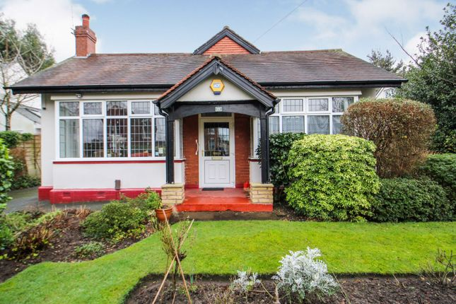 Thumbnail Detached bungalow for sale in Queens Drive, Heaton Mersey