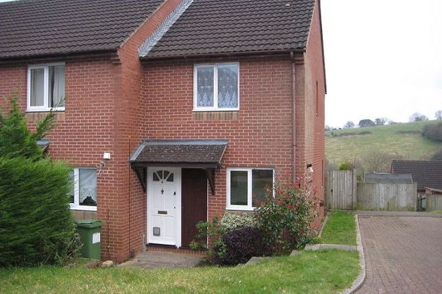 Thumbnail End terrace house to rent in Primrose Lawn, Exeter