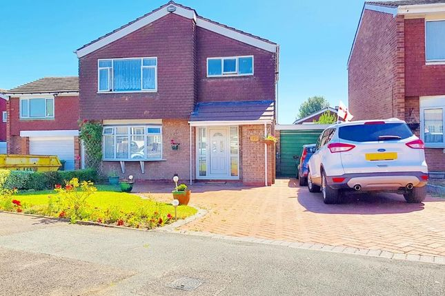 Thumbnail Detached house for sale in Europa Avenue, West Bromwich