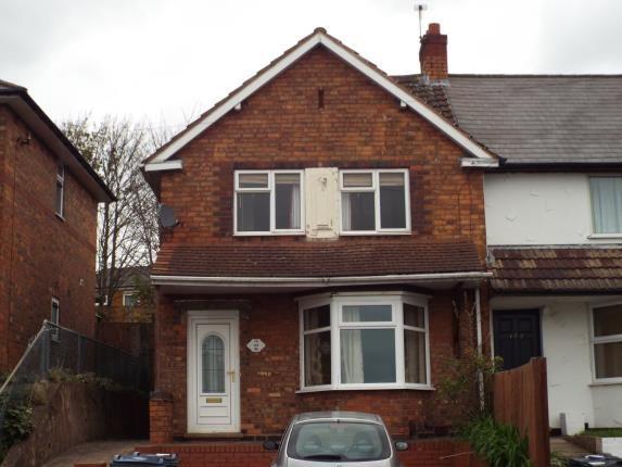 Thumbnail End terrace house for sale in Bendall Road, Birmingham, West Midlands, Birmingham