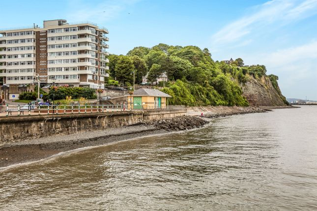 Thumbnail Flat for sale in Seabank, The Esplanade, Penarth