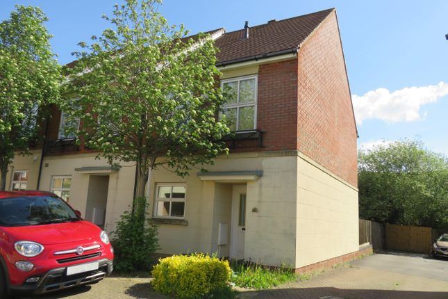Thumbnail End terrace house to rent in Frampton Grove, Westcroft, Milton Keynes