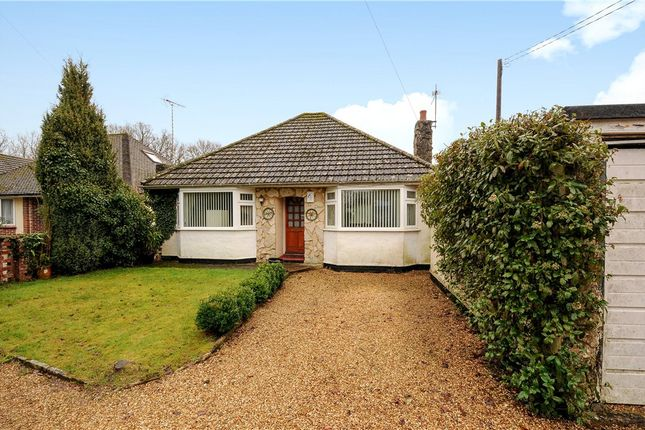 Thumbnail Detached bungalow for sale in Church Road, Three Legged Cross, Wimborne
