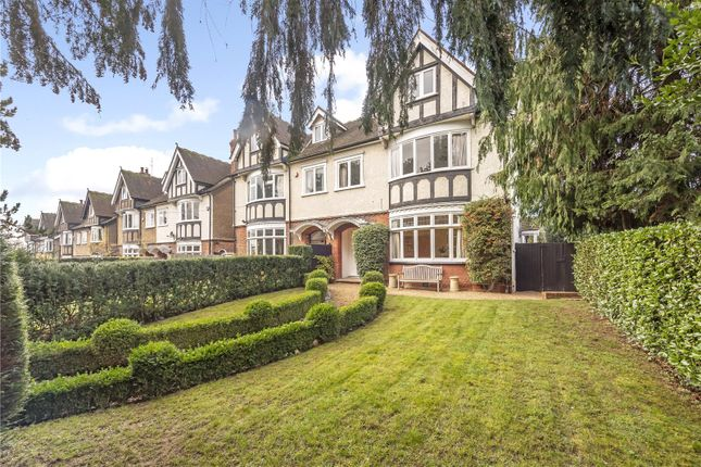 Thumbnail Semi-detached house for sale in Carlton Bank, Station Road, Harpenden, Hertfordshire