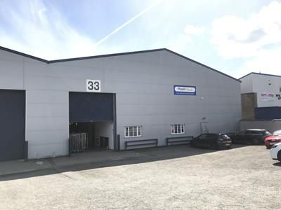 Thumbnail Light industrial to let in Unit 33, Springvale Industrial Estate, Cwmbran