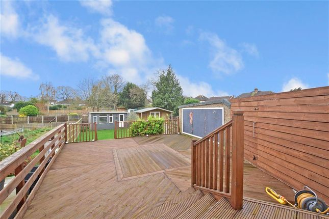 Patio / Decking of Great Gardens Road, Hornchurch, Essex RM11