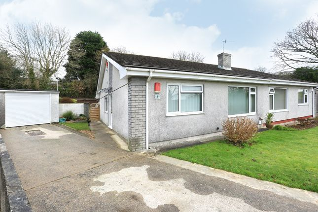 Thumbnail Semi-detached bungalow for sale in Rothbury Close, Plymouth