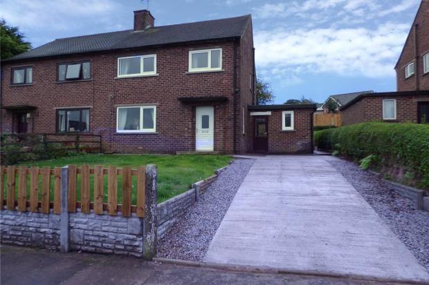 Thumbnail Semi-detached house for sale in Berrymoor Road, Brampton, Cumbria