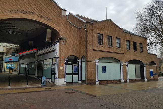 Retail premises to let in Unit 12, The Stonebow Centre, Silver Street, Lincoln