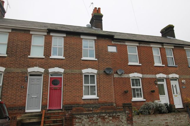 Thumbnail Terraced house to rent in Three Crowns Road, Colchester
