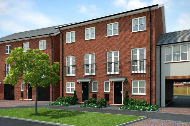 4 bed terraced house for sale in Plot 316 Buckden Phase 3/5, Navigation Point, Cinder Lane, Castleford WF10