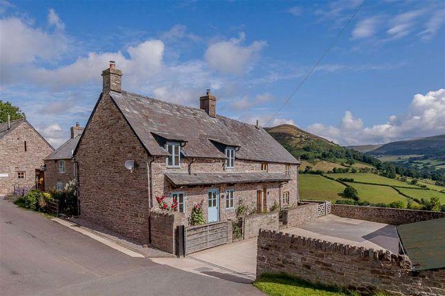 Thumbnail Farmhouse for sale in Cwmdu, Crickhowell, Powys