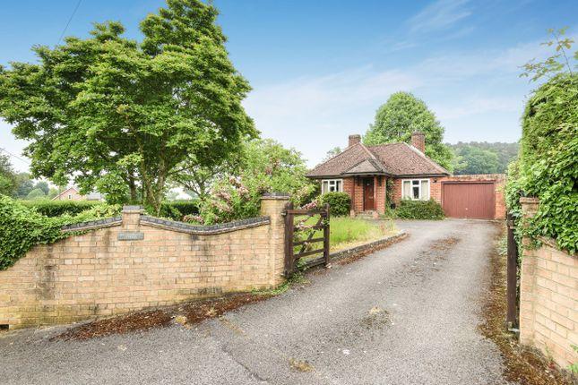 Thumbnail Detached bungalow for sale in Church Lane, Ewshot, Farnham, Surrey