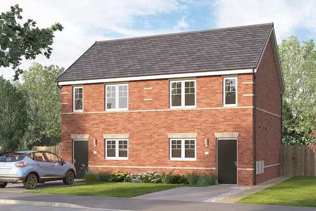 """Thumbnail Semi-detached house for sale in """"The Beckbridge"""" at St. Catherines Villas, Wakefield"""