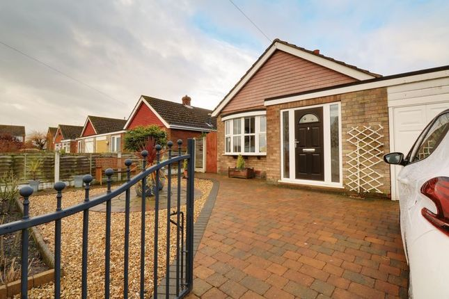 Thumbnail Detached bungalow for sale in Leaburn Road, Messingham, Scunthorpe