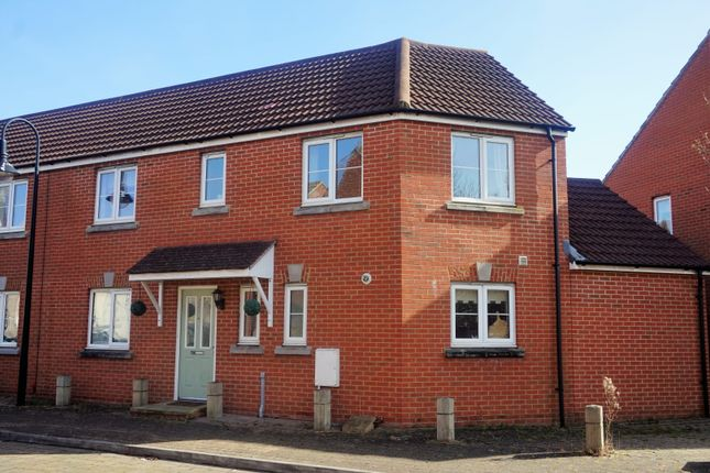 Thumbnail Semi-detached house for sale in Worle Moor Road, Weston Village