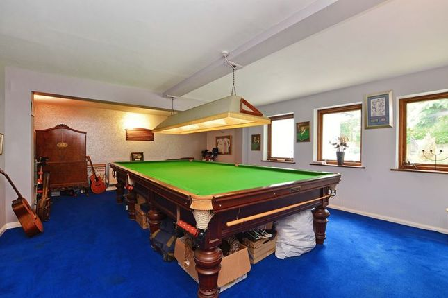 Snooker Room of Forest Edge, Whirlow, Sheffield S11