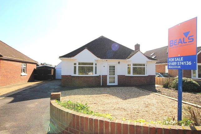Thumbnail Detached bungalow for sale in Barnes Lane, Sarisbury Green, Southampton