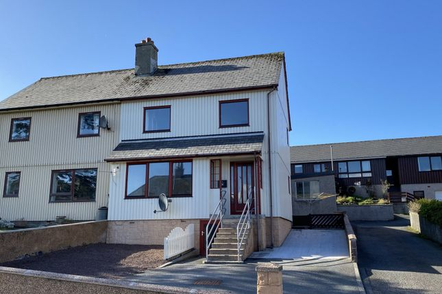 Thumbnail Semi-detached house for sale in Bruce Crescent, Lerwick