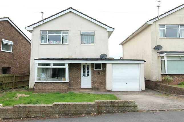 Detached house for sale in Ruskin Avenue, Rogerstone, Newport
