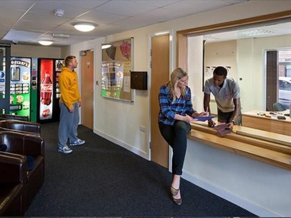 Reception of Apt 2, The Foundry, 43 Woodgate, Loughborough, Leicestershire LE11