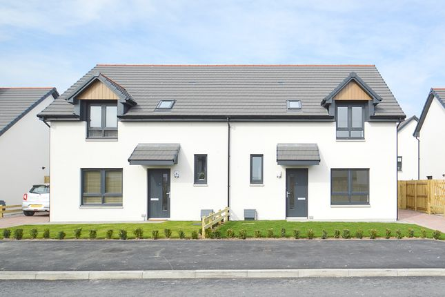 Thumbnail Semi-detached house for sale in Off Mannachie Road, Forres