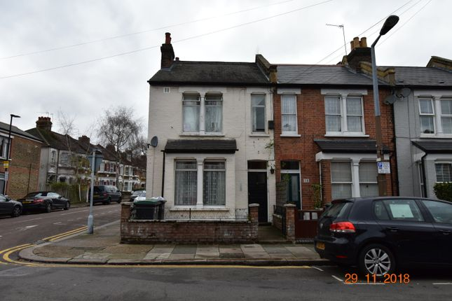 Thumbnail End terrace house for sale in Marlborough Road, London