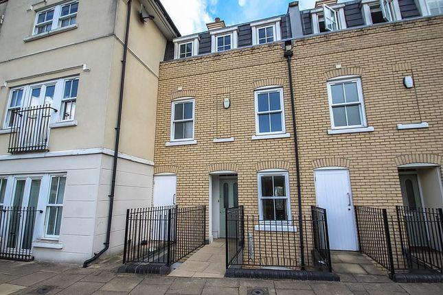 Thumbnail End terrace house to rent in St. Matthews Gardens, Cambridge