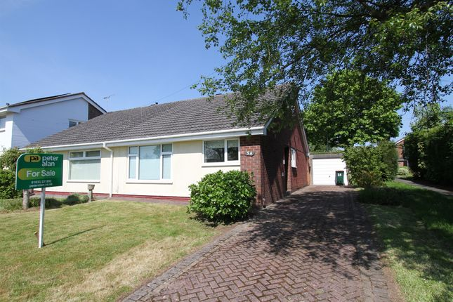 Thumbnail Semi-detached bungalow for sale in Ruskin Avenue, Rogerstone, Newport