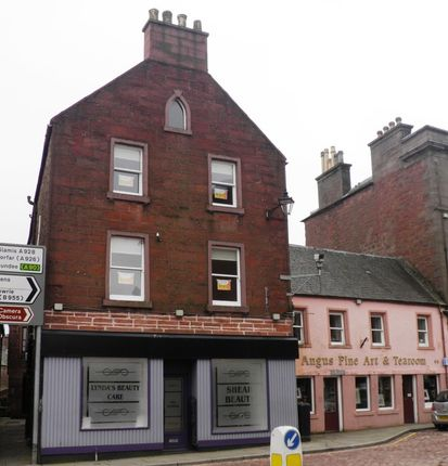 Thumbnail Flat to rent in High Street, Kirriemuir