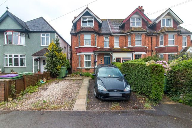 Thumbnail End terrace house for sale in Ashley Avenue, Folkestone