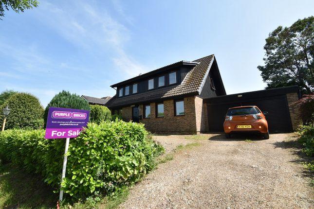 Thumbnail Detached house for sale in Fairmead Road, Edenbridge