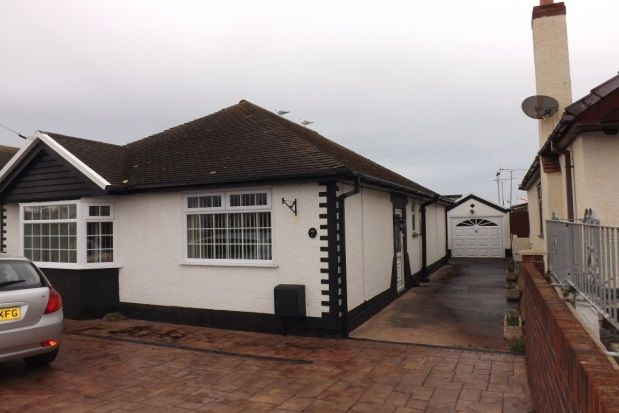 Thumbnail Bungalow to rent in The Mall, Prestatyn