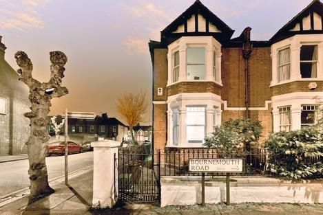 Thumbnail End terrace house for sale in Bournemouth Road, London